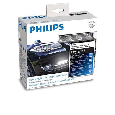 Дневные ходовые огни PHILIPS LED Daylight 9, 2 шт, 12831WLEDX1