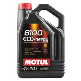 Масло моторное 5W30 MOTUL 5л синтетика 8100 ECO-nergy FORD/Renault A5/B5