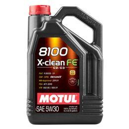 Масло моторное 5W30 MOTUL 5л синтетика 8100 X-Clean FE С2/C3