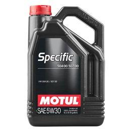 Масло моторное 5W30 MOTUL 5л синтетика Specific 504.00/507.00 C3