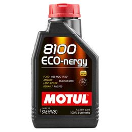 Масло моторное 5W30 MOTUL 1л синтетика 8100 ECO-nergy FORD/Renault A5/B5