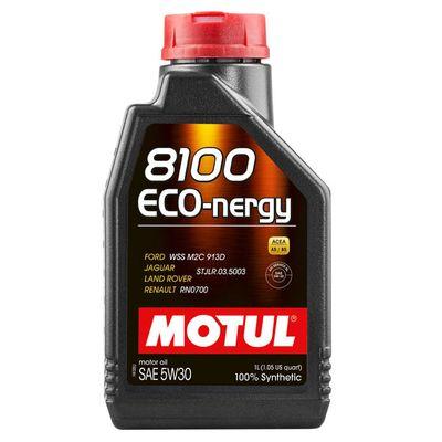 Масло моторное 5W30 MOTUL 1л синтетика 8100 ECO-nergy FORD/Renault A5/B5