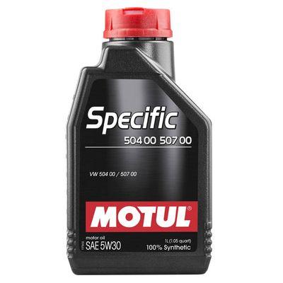 Масло моторное 5W30 MOTUL 1л синтетика Specific 504.00/507.00 C3
