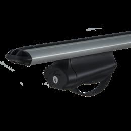 Багажник на рейлинги Lux БЭЛТ с дугами 1,2м аэродинамическими (73мм)