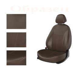 Авточехлы CITROEN C4 2004-2010 3 двери, коричневый/коричневый/коричневый