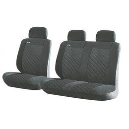 Чехлы на сиденья алькантара «RAZOR VAN», тёмно-серый, универсальные, 10138