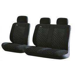Чехлы на сиденья алькантара «RAZOR VAN», чёрный, универсальные, 10140