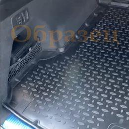 Коврик в багажник HYUNDAI SANTA FE III 2012-, 5 мест, полиуретан