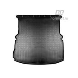 Коврик в багажник Ford Explorer (U502) (2010- 2015-) (сложенный 3 ряд) Полиуретан Чёрный