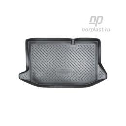 Коврик в багажник Ford Fiesta HB (2008-2015) Полиуретан Чёрный