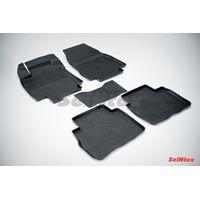Резиновые коврики с высоким бортом для Nissan Tiida 2007-2014