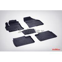 Резиновые коврики с высоким бортом для Toyota Corolla XI 2013-н.в.