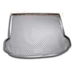 Коврик в багажник FORD FOCUS II 2004-2011 ХЭТЧБЕК, полиуретан, чёрный