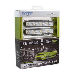 Светодиодные дневные ходовые огни серия CITY 12В, 14Вт, 6000К, комплект