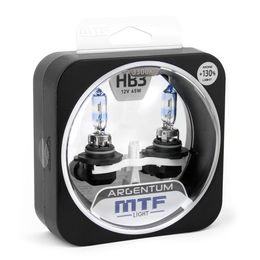 Галогенные автолампы HB3(9005) 12V 65W ARGENTUM +130% комплект