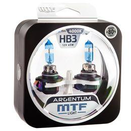 Галогенные автолампы HB3(9005) 12V 65W ARGENTUM +80% комплект