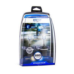 Галогенные автолампы H27W/1 (880) 12V 27W DYNAMIC BLUE комплект