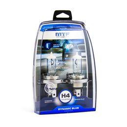 Галогенные автолампы H4 12V 60/55W DYNAMIC BLUE комплект