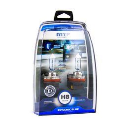 Галогенные автолампы H8 12V 35W DYNAMIC BLUE комплект