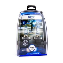 Галогенные автолампы HB3 (9005) 12V 65W DYNAMIC BLUE комплект