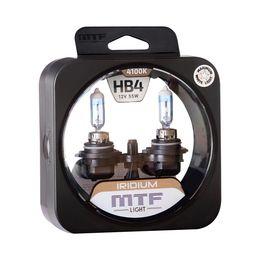 Галогенные автолампы MTF Light серия IRIDIUM HB4(9006), 12V, 55W, комплект