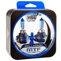 Галогенные автолампы HB4(9006) 12V 55W PALLADIUM комплект