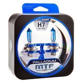 Галогенные автолампы H7 12V 55W PALLADIUM комплект
