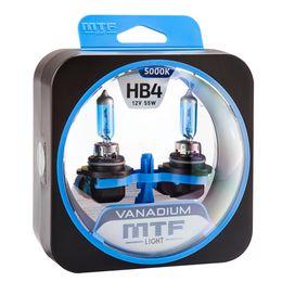 Галогенные автолампы HB4(9006) 12V 55W VANADIUM комплект