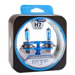 Галогенные автолампы H7 12V 55W VANADIUM комплект