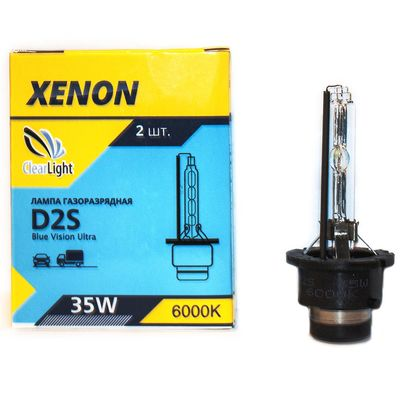 Ксеноновая лампа D2S ClearLight, 6000K