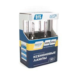 Ксеноновые лампы MTF Light D1S, ACTIVE NIGHT +30%, 3250lm, 5000K, 35W, 85V, 2 шт.