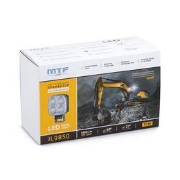 Прожектор светодиодный для спецтехники 12-24В, 10Вт, 5500К, квадратный