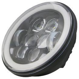Светодиодная фара ближнего и дальнего света с функцией ДХО и поворотников BBHL-DLT505BL