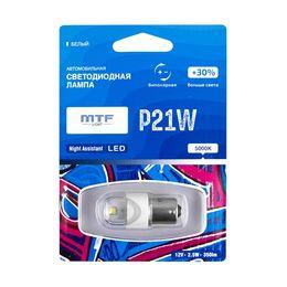 Светодиодная автолампа P21W 12В 2.5Вт Night Assistant LED белая