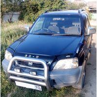 Дефлектор капота (Мухобойка) на HONDA CR-V I 1995-2001, отбойник на капот