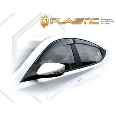 Ветровики дверей HYUNDAI ELANTRA 2011-2014 СА Пластик купить - Интернет-магазин Msk-Auto.com