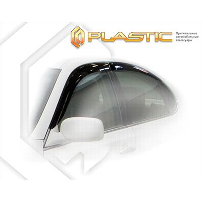 Ветровики дверей LEXUS ES 300 2001-2006 СА Пластик купить - Интернет-магазин Msk-Auto.com