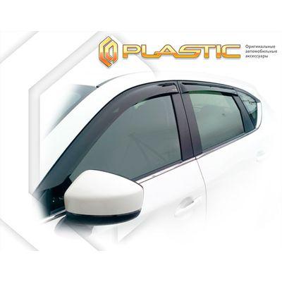 Ветровики дверей MAZDA CX-5 KF 2017-н.в. СА Пластик купить - Интернет-магазин Msk-Auto.com