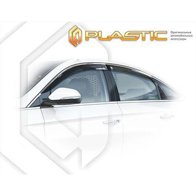 Ветровики дверей HYUNDAI SONATA LF 2017-н.в. СА Пластик купить - Интернет-магазин Msk-Auto.com