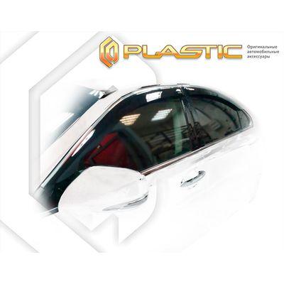 Ветровики дверей LEXUS ES 2006-2012 СА Пластик купить - Интернет-магазин Msk-Auto.com