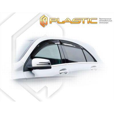 Ветровики дверей MERCEDES-BENZ A-CLASSE W176 2012-н.в. СА Пластик купить - Интернет-магазин Msk-Auto.com