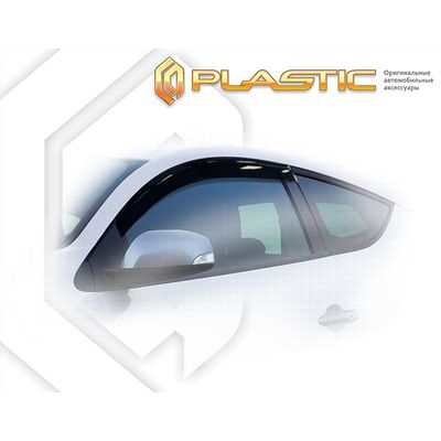 Ветровики дверей для RENAULT MEGANE Coupe 3 двери 2008