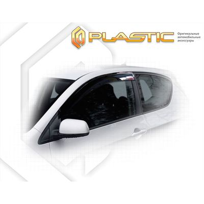 Ветровики дверей KIA PICANTO 3 DOOR TA 2011-н.в. СА Пластик купить - Интернет-магазин Msk-Auto.com