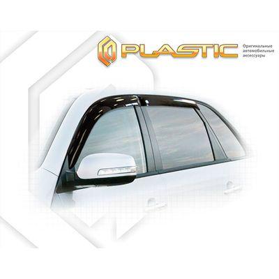 Ветровики дверей KIA SORENTO 2012-н.в. СА Пластик купить - Интернет-магазин Msk-Auto.com