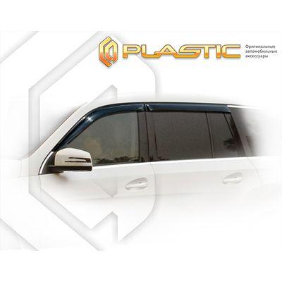 Ветровики дверей MERCEDES-BENZ GLC 2015-н.в. СА Пластик купить - Интернет-магазин Msk-Auto.com