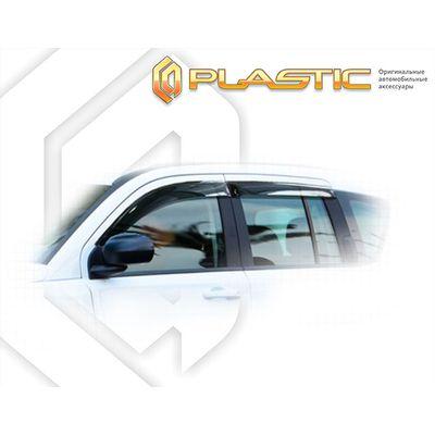 Ветровики дверей JEEP COMPASS 2013-н.в. СА Пластик купить - Интернет-магазин Msk-Auto.com