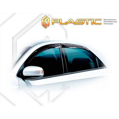 Ветровики дверей KIA CERATO 2008-2013 СА Пластик купить - Интернет-магазин Msk-Auto.com