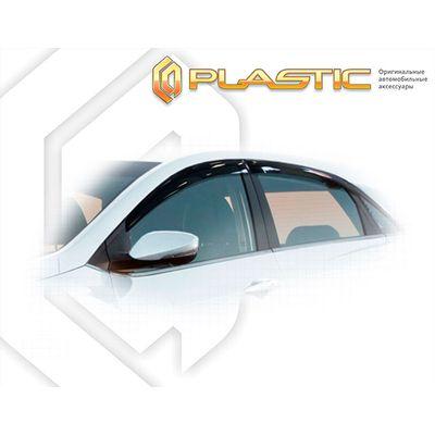 Ветровики дверей HYUNDAI I30 ХЭТЧБЭК 2012-н.в. СА Пластик купить - Интернет-магазин Msk-Auto.com