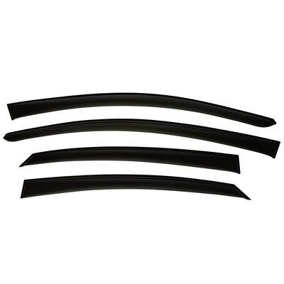 """Дефлекторы окон для RENAULT KAPTUR CAPTUR I 2016-, ветровики на окна накладные, """"TT"""""""