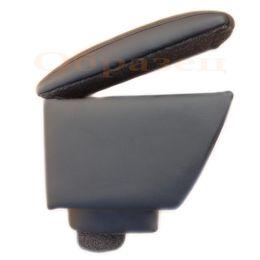 Подлокотник RAVON R4 штатное место, на магните, экокожа, чёрный